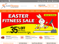 Just Fitness Equipment Vouchers